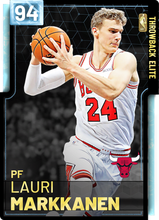 '18 Lauri Markkanen diamond card