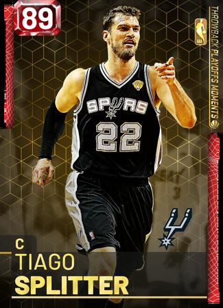 Tiago Splitter ruby card