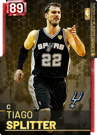 Tiago Splitter ruby card