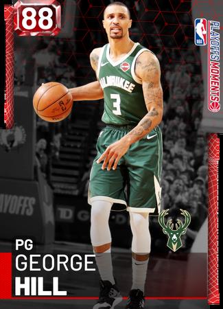 George Hill ruby card