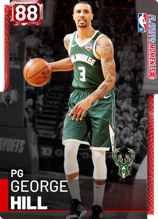 George Hill ruby card