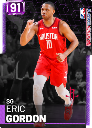 Eric Gordon amethyst card