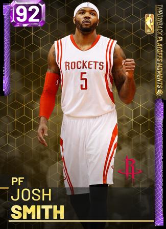 Josh Smith amethyst card