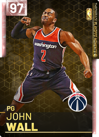 '18 John Wall pinkdiamond card