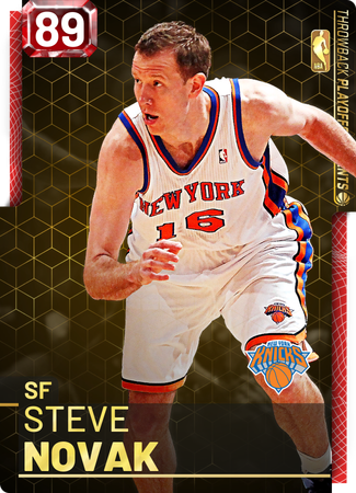 '08 Steve Novak ruby card
