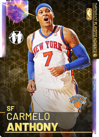 '12 Carmelo Anthony opal card