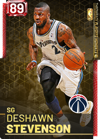 '07 Deshawn Stevenson ruby card