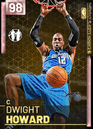 '18 Dwight Howard pinkdiamond card