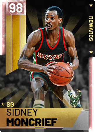 '85 Sidney Moncrief pinkdiamond card