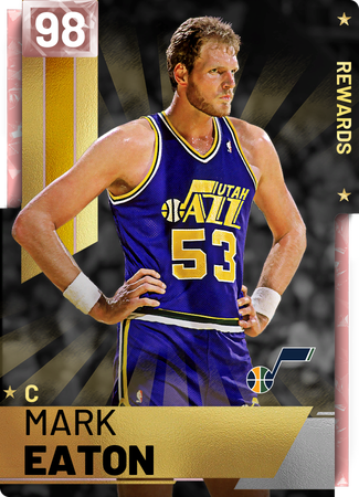 '83 Mark Eaton pinkdiamond card