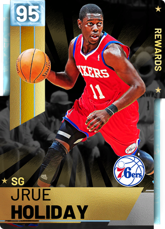 '16 Jrue Holiday diamond card