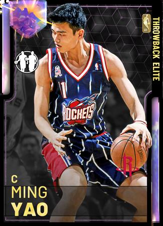 '08 Ming Yao opal card
