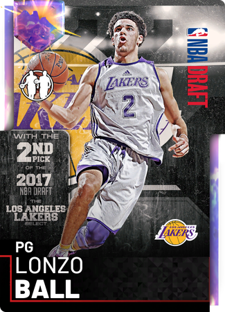 Lonzo Ball opal card