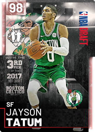 Jayson Tatum pinkdiamond card