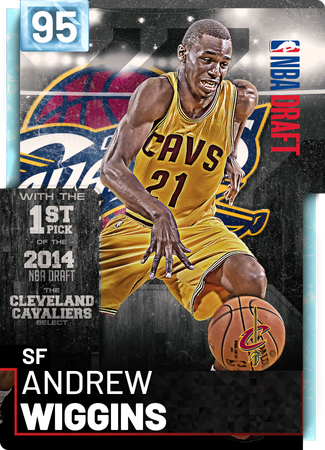Andrew Wiggins diamond card