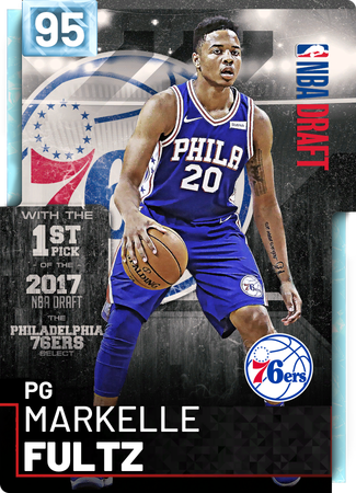 Markelle Fultz diamond card