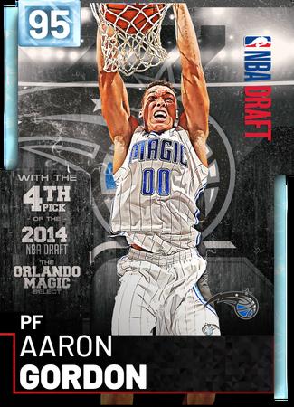 Aaron Gordon diamond card