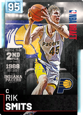 '98 Rik Smits diamond card