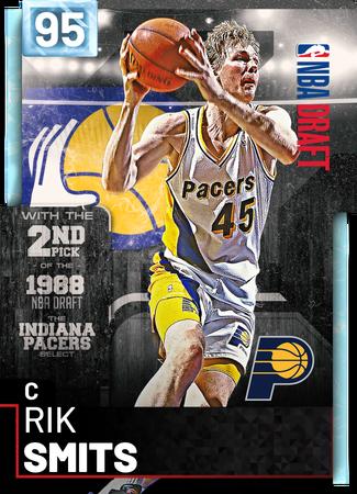 '98 Rik Smits diamond card