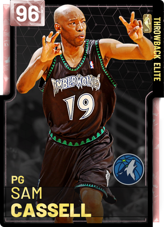 '04 Sam Cassell pinkdiamond card