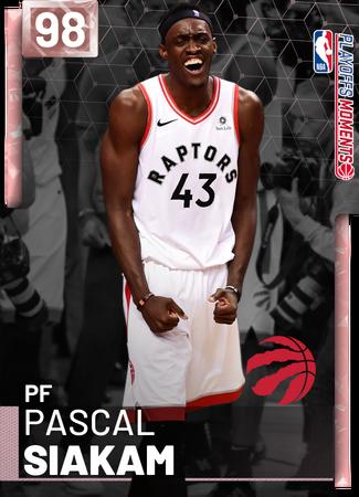 Pascal Siakam pinkdiamond card