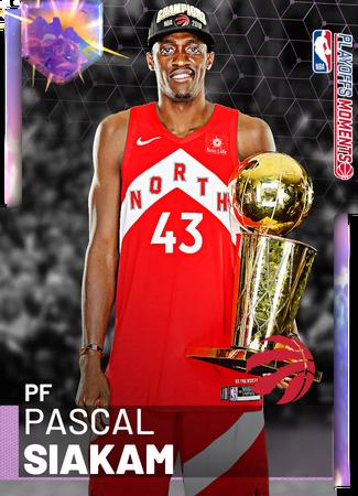 Pascal Siakam opal card