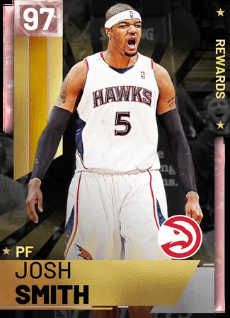 '18 Josh Smith pinkdiamond card
