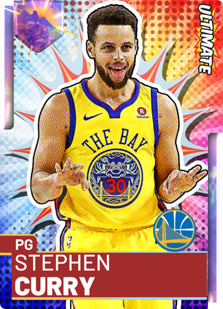 '17 Stephen Curry opal card