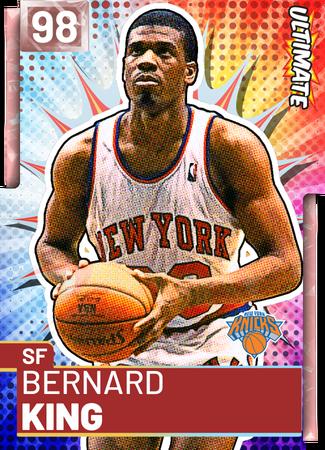 '81 Bernard King pinkdiamond card