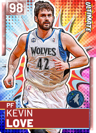 Kevin Love pinkdiamond card