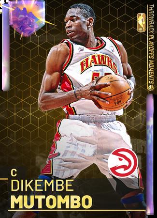 '09 Dikembe Mutombo opal card