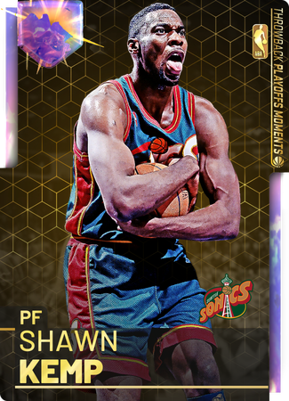 '03 Shawn Kemp opal card