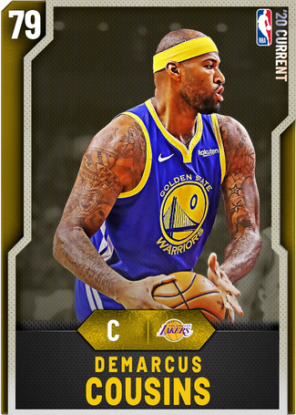 DeMarcus Cousins gold card