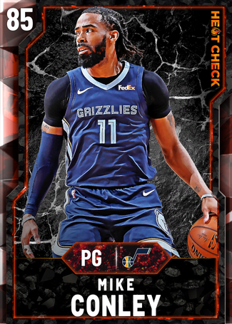 Mike Conley fire card