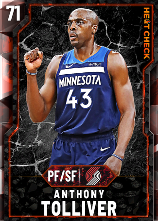 Anthony Tolliver fire card