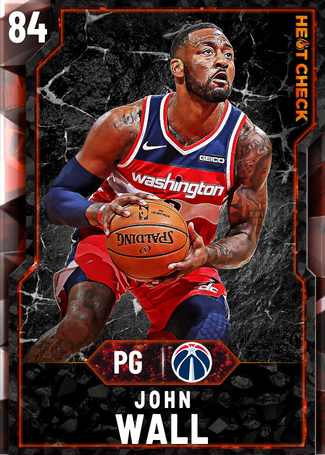 John Wall fire card