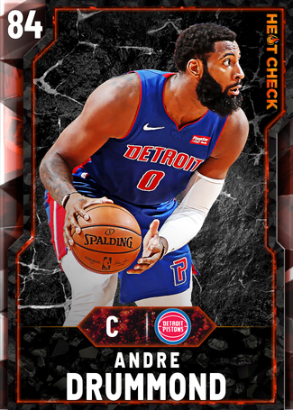 Andre Drummond fire card