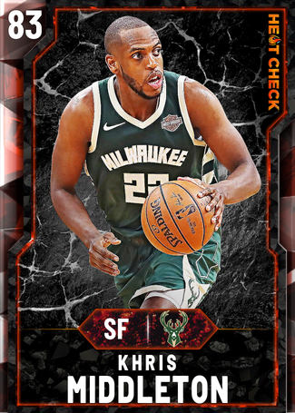 Khris Middleton fire card