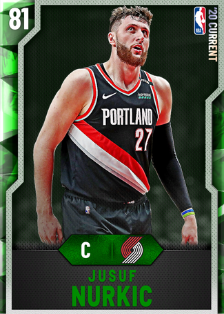 Jusuf Nurkic emerald card