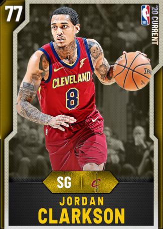 Jordan Clarkson gold card