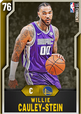 Willie Cauley-Stein gold card
