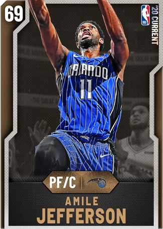Amile Jefferson bronze card