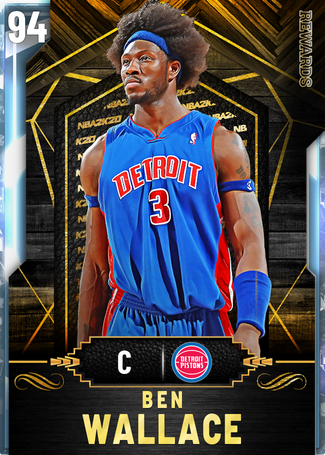'04 Ben Wallace diamond card