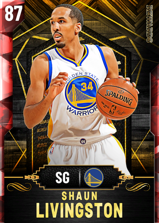 '16 Shaun Livingston ruby card