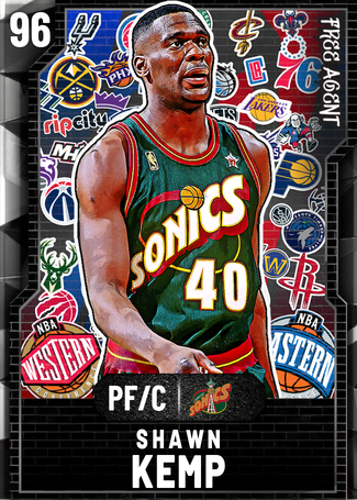 '03 Shawn Kemp onyx card