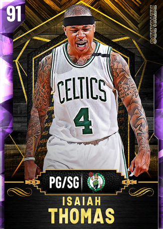 Isaiah Thomas amethyst card