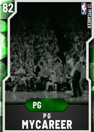PG MyCareer emerald card