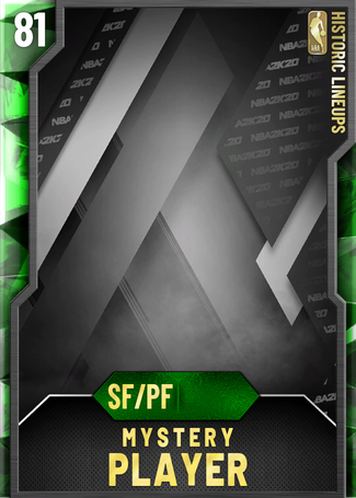 Mystery Player emerald card