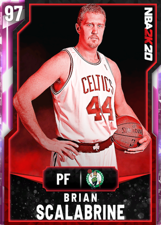 '08 Brian Scalabrine pinkdiamond card