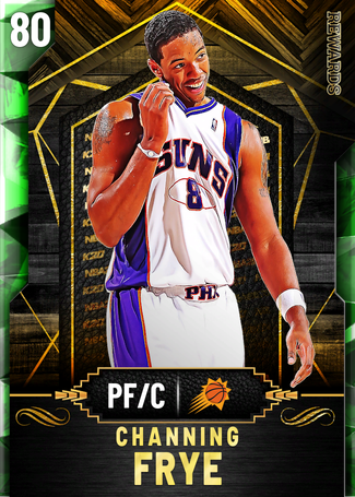 '10 Channing Frye emerald card